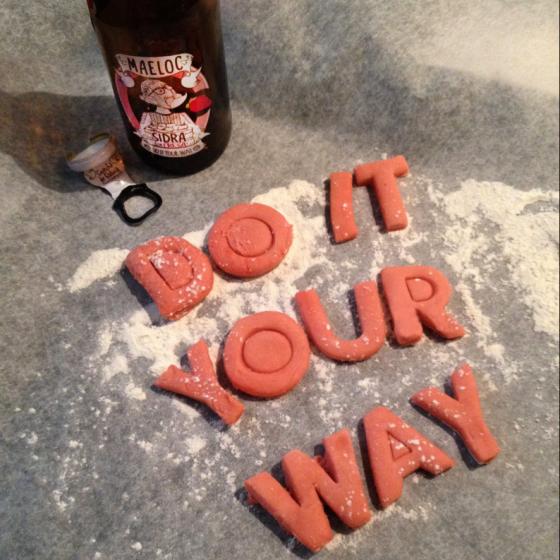 #Cookingyourway: Galletas a la sidra de fresa Maeloc