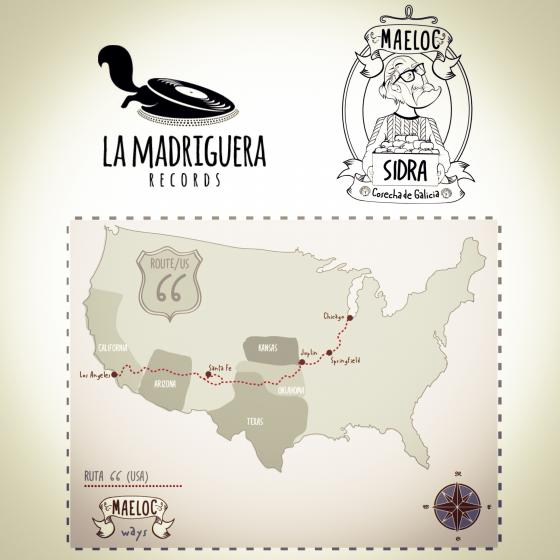 Maeloc y La Madriguera Records en la Ruta 66