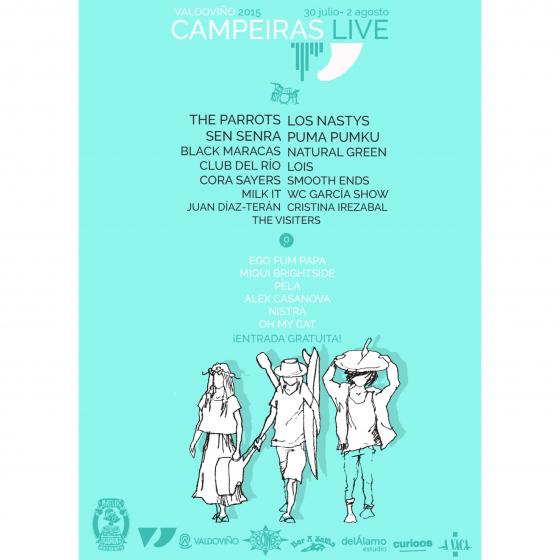 Maeloc y el Festival Campeiras Live