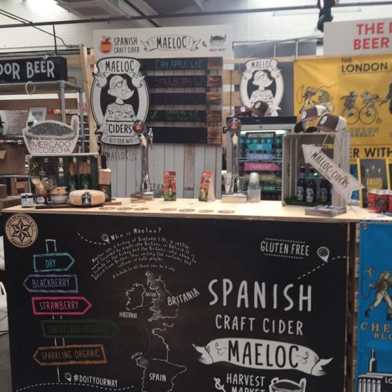 Nuestras Maeloc vuelan de nuevo hasta el Craft Beer Rising en Londres