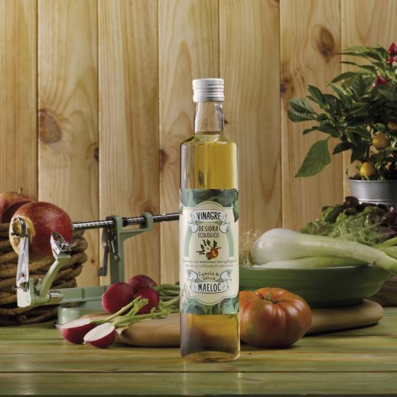 Vinagre de sidra ecológico: el nuevo miembro de la familia Maeloc