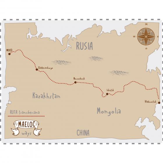 La ruta Transiberiana, una experiencia única