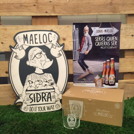 ¿Quieres llevarte un pack de vasos de Maeloc? ¡Te explicamos cómo hacerlo!