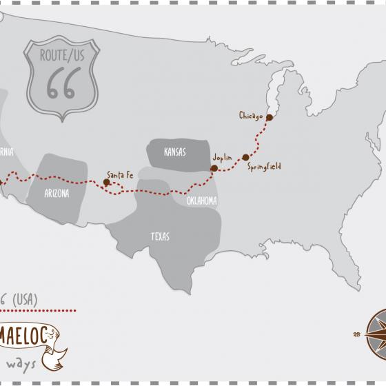 Maeloc Ways: La Ruta 66