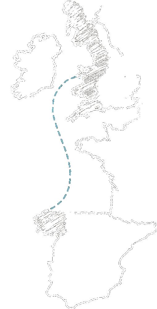 Mapa Gallaecia Britannia