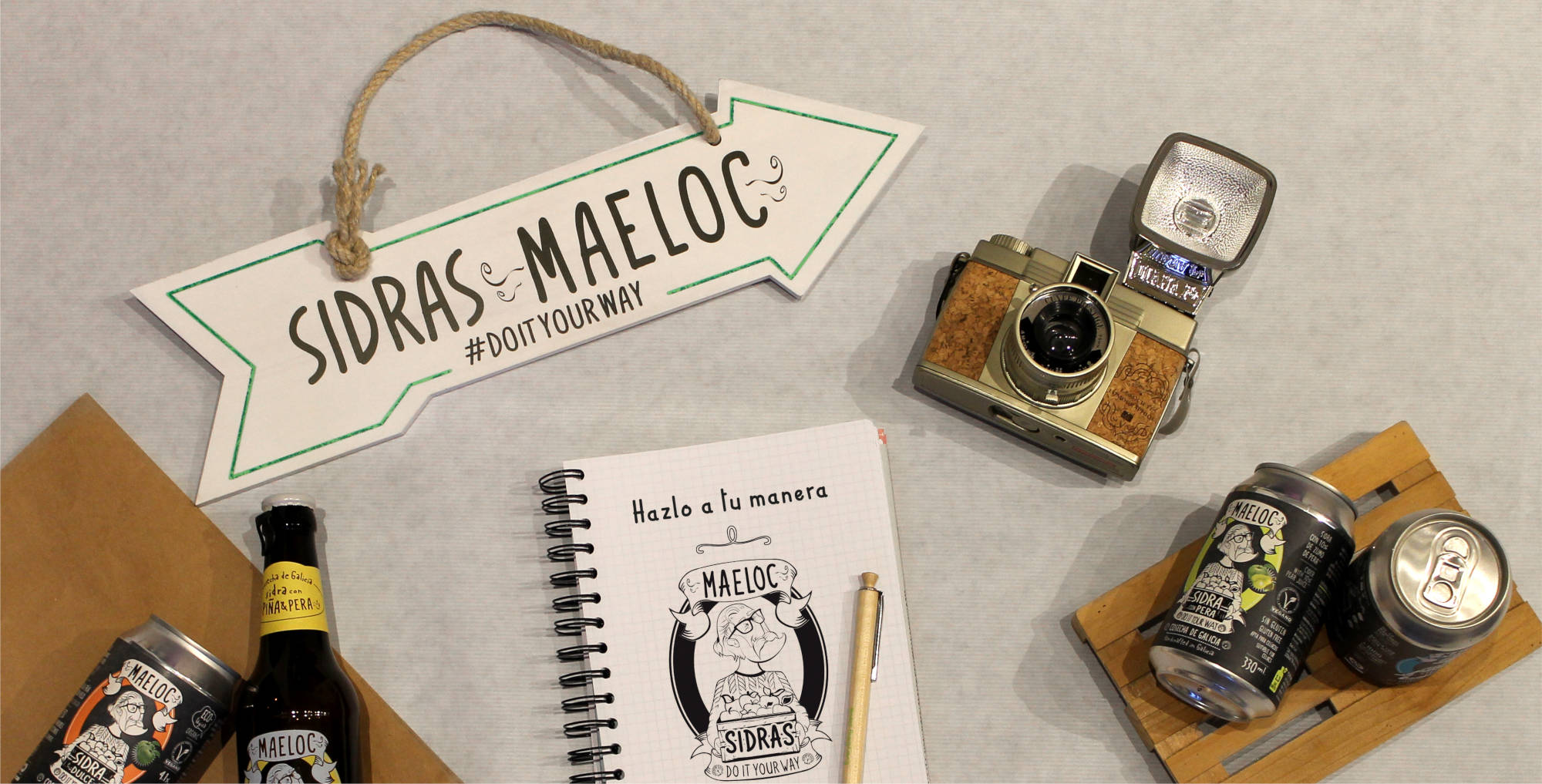 Blog de las Sidras Maeloc. Do It Your Way. The Maeloc Way