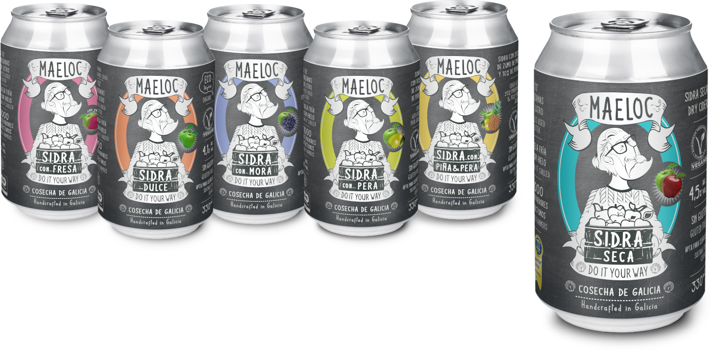Maeloc Cans are from reciclable aluminium